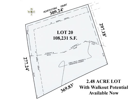 St. Charles IL Homebuilders Lot Presented By Hosler McNamara homes.
