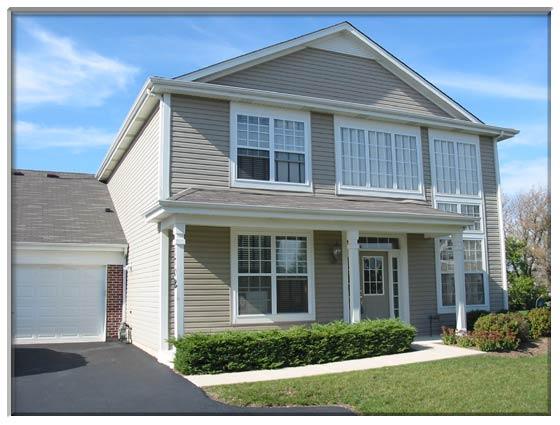 2 Bedroom Sugar Grove, IL Town House For Sale Presented By Peggy Cain.